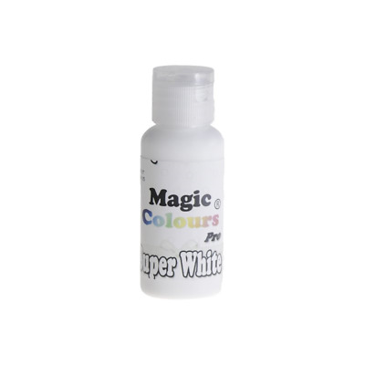 Magic Colours Super White Pro Gel Food Colouring For Cake Decorating • 6.25£