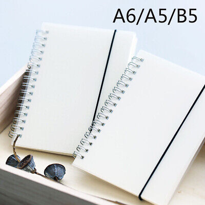 AU10.93 • Buy A5/A6/B5 Spiral Book Coil Notebook To-Do Lined Dot Blank Grid Diary Sketchbook