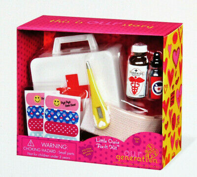 £14.94 • Buy AG Our Generation Little Owie Fix-It Kit Dr Nurse 18  Girl Doll Accessories NEW!