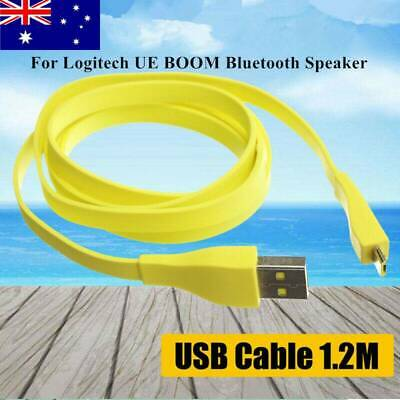 AU8.99 • Buy 1.2M Micro USB PC Charger Data Cable For Logitech UE BOOM Bluetooth Speaker AU