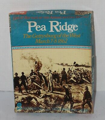 PEA RIDGE Strategy & Tactics SPI Used The Gettysburg Of The West Civil War • 39.95$