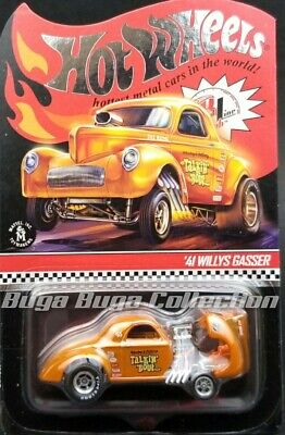 Hot Wheels RLC '41 Willy's Gasser Real Riders • 80$