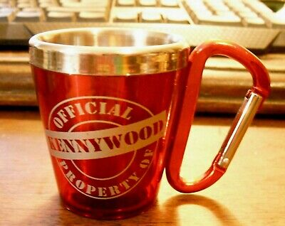 $9.95 • Buy KENNYWOOD AMUSEMENT PARK Belt Loop Shot Glass-Stainless Steel