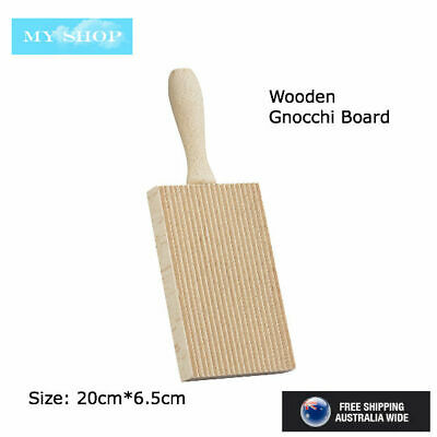 AU9.45 • Buy D.Line Gnocchi Board, Rubberwood Rolling Pasta Maker