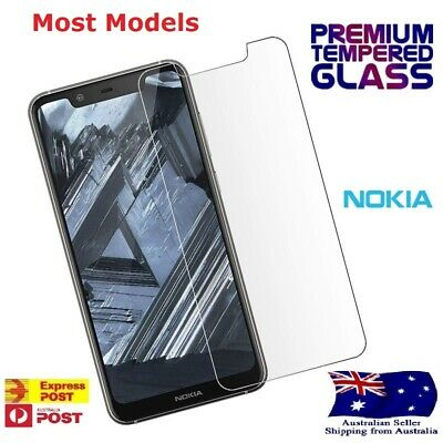 AU4.99 • Buy Tempered Glass/Thick Film Screen Protector For Most Nokia 2.3 4.2 5.3 6.2 7.2...