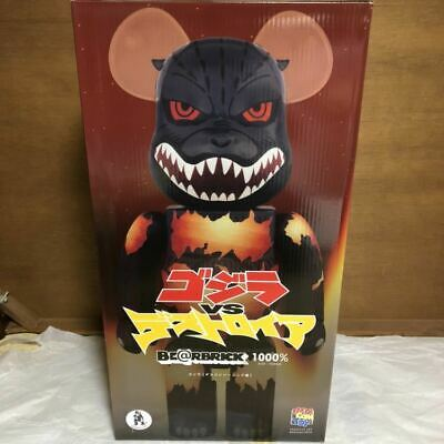 $1871.49 • Buy Medicom Toy Be@rbrick Figure 1000% Godzilla Desgodzi Burning Ver Bearbrick