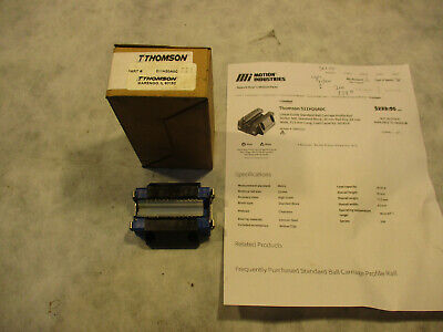 $150 • Buy Thomson 511H20A0C Linear Guide Standard Ball Carriage Profile Rail