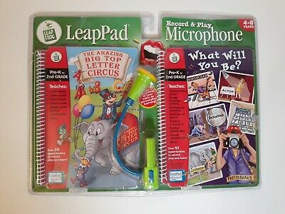 £10.78 • Buy Leapfrog Record And Play Microphone With 2 Books. Letter Circus, Educational