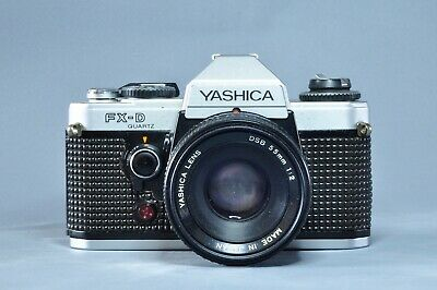 Yashica FX-D 35mm SLR With Yashica DSB 55mm F2 Lens • 70£