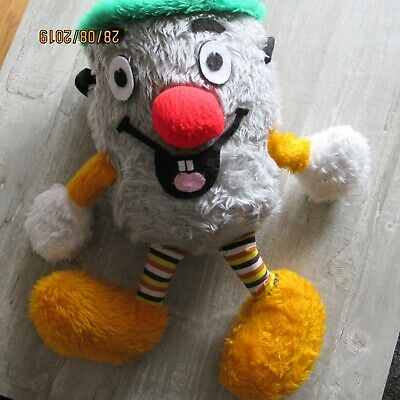 Vintage Cuddley Toy From 1980's DustyBin From The Tv Show 321 • 50£
