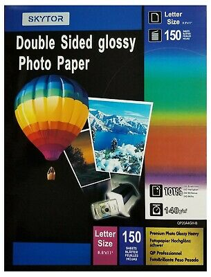 £14.87 • Buy Skytor Glossy Inkjet Photo Paper Double Sided Printing Brochure Weight 140gsm