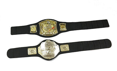 $30 • Buy 2 WWE Jakks Foam Belts For Kids World Championship Spinner Cena Wrestling