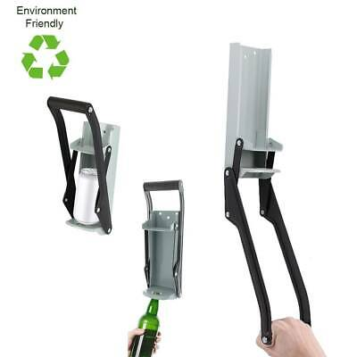 £8.49 • Buy 16oz Can Crusher Recycling Tool Wall Mounted 500ml Beer Tin Bottle Opener Tools