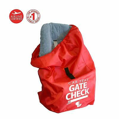 £13.97 • Buy JL Childress Gate Check Padded Backpack Travel Bag For Newborn Car Seat - Red