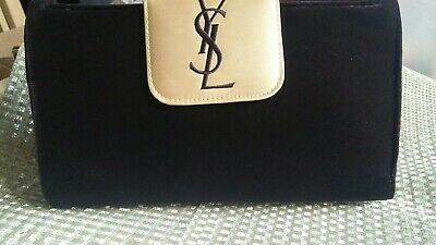 £69.99 • Buy YSL Couture Ltd Edition Velvet Clutch Evening Bag Mirror With Brush Wallet  New*