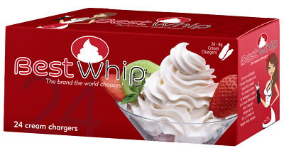 $ CDN57.06 • Buy N20 24PCS BestWhip Whip Cream Chargers For Fresh Whipped Cream USA