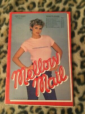 Vintage '80s MELLOW MAIL Catalog EXOTIC Lingerie & Novelties • 20.50$