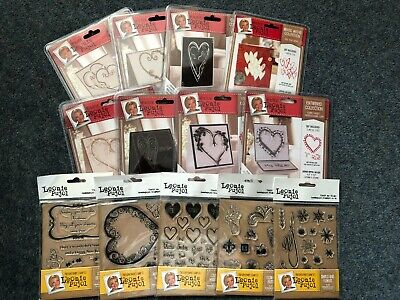 Leonie Pujol Entwined Collection Dies Stamps Stencils Masks Embossing Folders • 4.70£