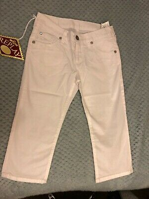 £10 • Buy Girls White Replay Jeans Brand New Tagged 2 X Sizes.