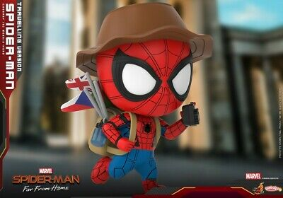 $ CDN46.48 • Buy Hot Toys COSB672 Spiderman: Far From Home Travelling Ver. Bobble-head Figure