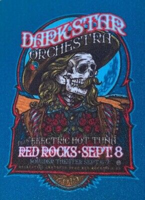 TWO (2) Dark Star Orchestra   Electric Hot Tuna Beer Can Koozies Red Rocks 2019 • 13.47£