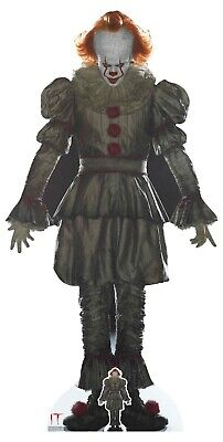 £39.99 • Buy Pennywise From Stephen King's IT Official Lifesize Cardboard Cutout Horror Clown