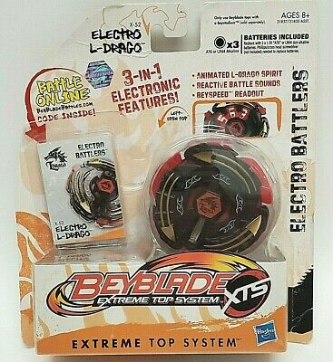 AU38.97 • Buy Beyblade XTS Extreme Top System Electro L-Drago X-52 Battlers NEW & SEALED 2011