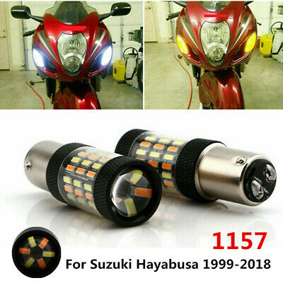 1999-07 Xenon HID Hyper Headlight Bulbs Lights Suzuki GSXR 1300 Hayabusa H7 9005