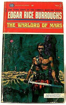 $4.99 • Buy  THE WARLORD OF MARS  Fantasy JOHN CARTER Novel By EDGAR RICE BURROUGHS (1967)