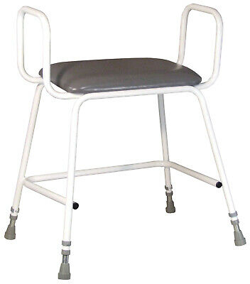 £79.95 • Buy Aidapt Torbay Bariatric Perching Stool With Arms - VG869W