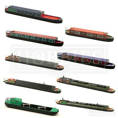 £7.99 • Buy Craftline Canal Narrow Boats Models 1:76 Scale OO Gauge Coal Tug Holiday Boat