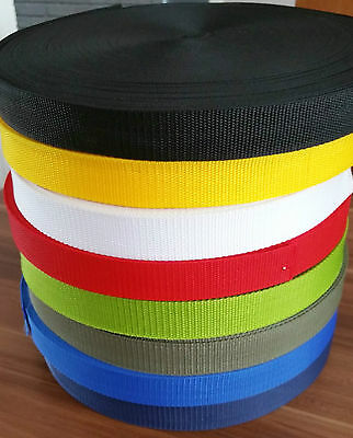 15mm Wide Polypropylene Webbing Strapping Upholstery Bag Handle Belts 1-5 Meters • 2£