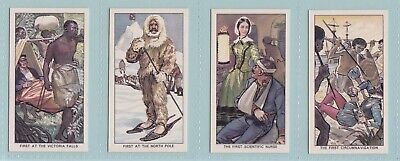 Trade Cards - Famous Firsts (Kellogg Ltd.) - Complete Set • 2.99£