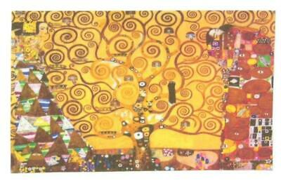 $ CDN9.57 • Buy Tree Of Life Gold Klimt Adult Art Cotton Shirt Patches Iron On Fabric Goddes DIY