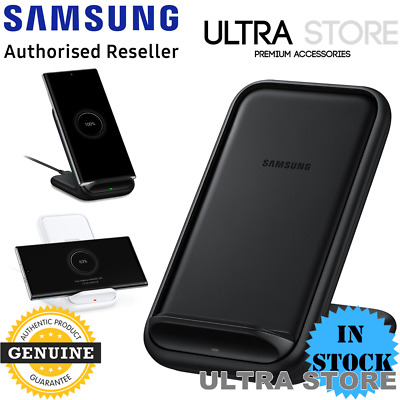 AU89.95 • Buy GENUINE Samsung Qi Fast Wireless Charger 2.0 15W Stand Pad S20 Ultra Note10 S10