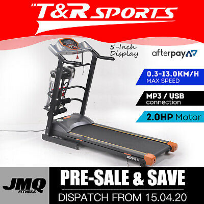 AU324.99 • Buy 【20%OFF】A7 Foldable Multi-functional Digital Screen Incline Running Treadmill