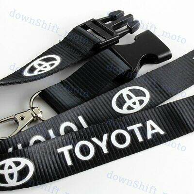 $5.30 • Buy NEW Lanyard Keychain Quick Release Key Chain SUPRA AE86 COROLLA For Toyota Black