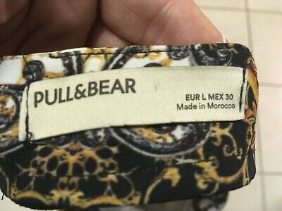 AU21 • Buy Pull And Bear Womens 30 In  Patterned Skirt