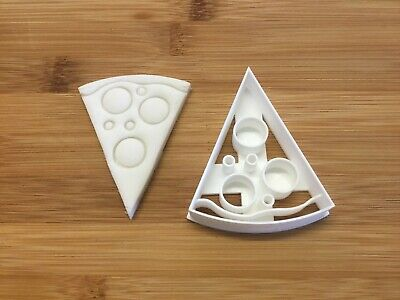£3.99 • Buy Pizza Slice Cookie Cutter 3d Printed, Pastry, Fondant Cutter