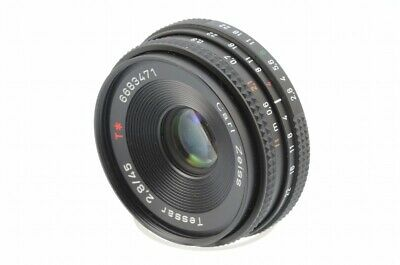 $155 • Buy CONTAX TESSAR 45mm F/2.8 AEJ Very Good Condition #112443