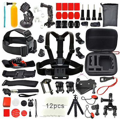 $ CDN43.96 • Buy For GoPro Go Pro Hero 5 Accessories Set Kit  Black/Silver Hero 4/3+/3/2 1 Origin