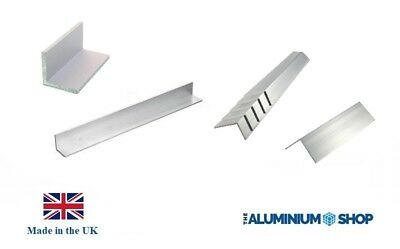 £11.56 • Buy Aluminium Angle - Multi Listing - 1.6mm And 3mm Thick - Choice Of Lengths