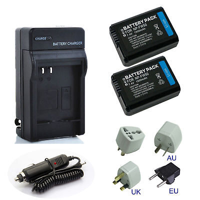 $ CDN17.29 • Buy 1500mAh Battery / Charger For Sony NP-FW50 Alpha A3000 A3500 A5000 A6500 A6000