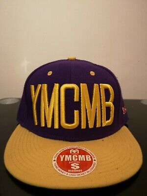 Brand New YMCMB Hollister Snapback Purple Yellow Adjustable Size W Tag • 7.99£