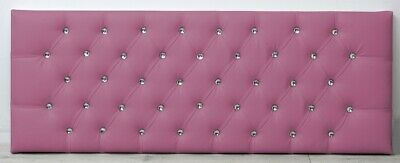 Chesterfield Leather Headboard Ten Colours To Choose From • 42.64£