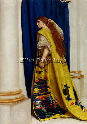 $ CDN387.85 • Buy John Everett Millais Esther Artist Painting Reproduction Handmade Oil Canvas Art