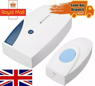 Wireless Door Bell 36 Chime Cordless Portable 70M Range Digital Battery • 8.49£