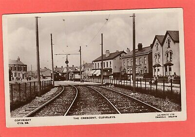 £21.50 • Buy The Crescent Cleveleys Nr Blackpool Tram Station RP Pc Unused Ref T672