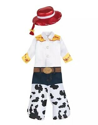 £30.50 • Buy New Disney Store Toy Story Cowgirl Jessie Baby Toddler Costume Hat 12 18 24