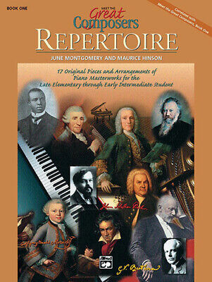 £7 • Buy Meet The Great Composers: Repertoire, Book 1 Piano Book 17248